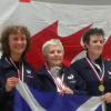 Gold for Women's Foil