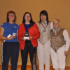 Women's Foil Medalists