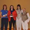 Women's Foil Medalists
